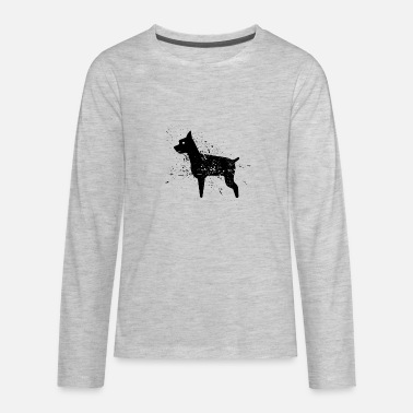 Black Dog black dog - Kids' Premium Longsleeve Shirt