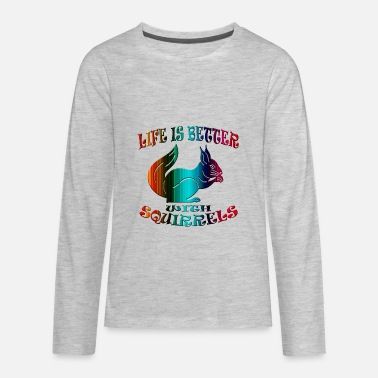 Squirrel Squirrel - Kids' Premium Longsleeve Shirt