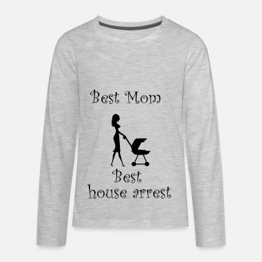 Arrest Warrant Best mom best house arrest - Kids' Premium Longsleeve Shirt