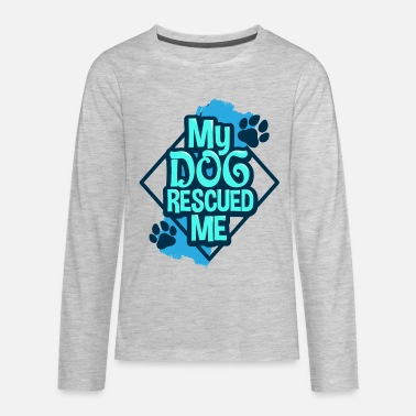 Rescue Dog Rescue Dog - Kids' Premium Longsleeve Shirt