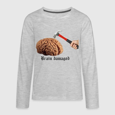 Brain Damaged - Kids' Premium Long Sleeve T-Shirt