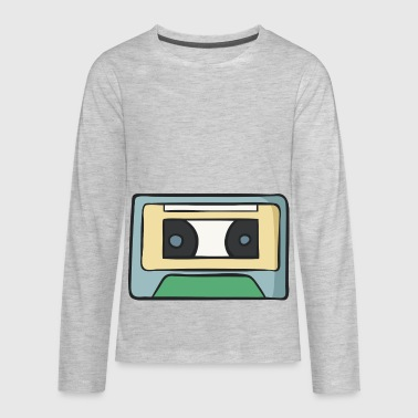 cassette - Kids' Premium Long Sleeve T-Shirt