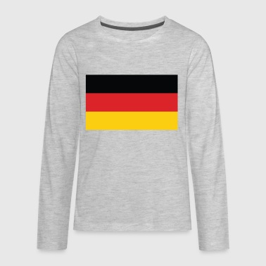 Flag of Germany Cool German Flag - Kids' Premium Long Sleeve T-Shirt