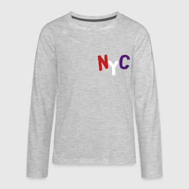 nyc - Kids' Premium Long Sleeve T-Shirt