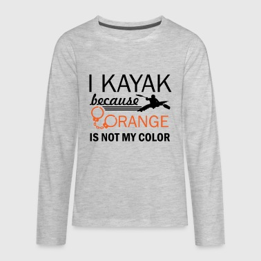 kayak design - Kids' Premium Long Sleeve T-Shirt