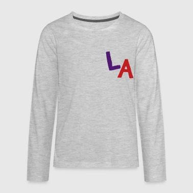 LA - Kids' Premium Long Sleeve T-Shirt