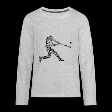 BASEBALL - Kids' Premium Long Sleeve T-Shirt
