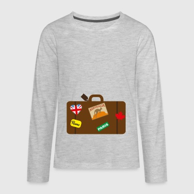 suitcase - Kids' Premium Long Sleeve T-Shirt