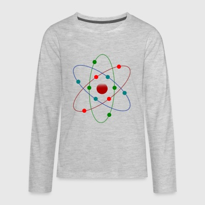Atom Color - Kids' Premium Long Sleeve T-Shirt
