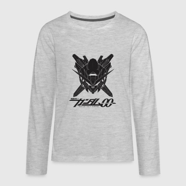 gundam blck - Kids' Premium Long Sleeve T-Shirt