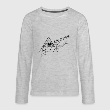 P-Smith_Official_Logo - Kids' Premium Long Sleeve T-Shirt