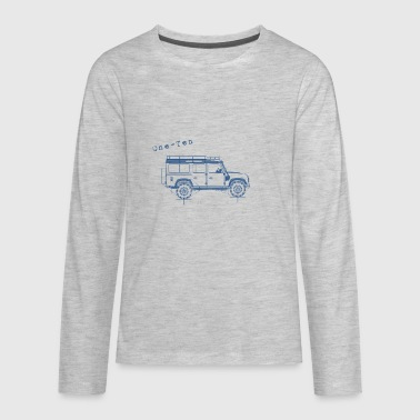 LR Defender - One-Ten - Kids' Premium Long Sleeve T-Shirt