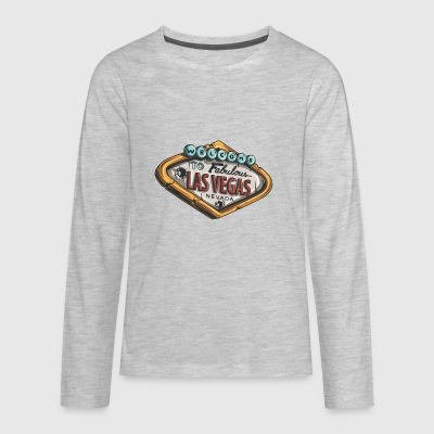 las_vegas_casino - Kids' Premium Long Sleeve T-Shirt
