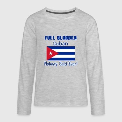 Cuban designs - Kids' Premium Long Sleeve T-Shirt