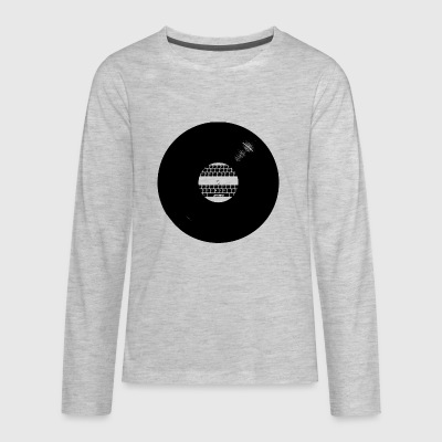LIGHT RECORD - Kids' Premium Long Sleeve T-Shirt