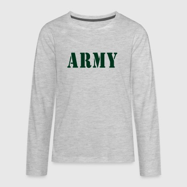 Baby Army Design. Funny - Kids' Premium Long Sleeve T-Shirt