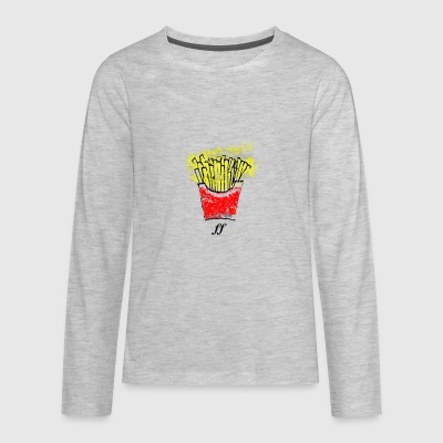 French Fries - Kids' Premium Long Sleeve T-Shirt