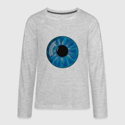Amazing Eye - Kids' Premium Long Sleeve T-Shirt