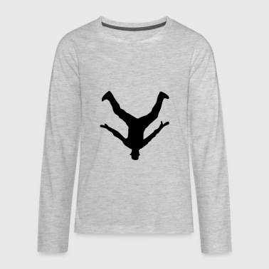 Breakdancer, Breakdance - Kids' Premium Long Sleeve T-Shirt