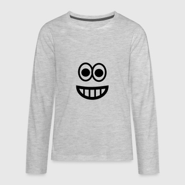 Very happy smiley - Kids' Premium Long Sleeve T-Shirt