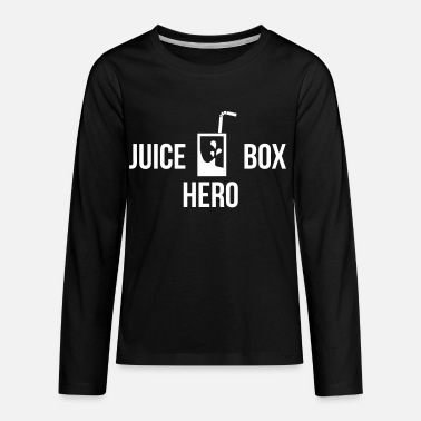 Juice juice box hero - Kids' Premium Long Sleeve T-Shirt