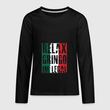 Gift For Mexican Mexican Immigrant gift for Mexicans - Kids' Premium Long Sleeve T-Shirt