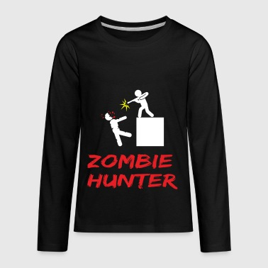 ZOMBIE hunter - Kids' Premium Long Sleeve T-Shirt