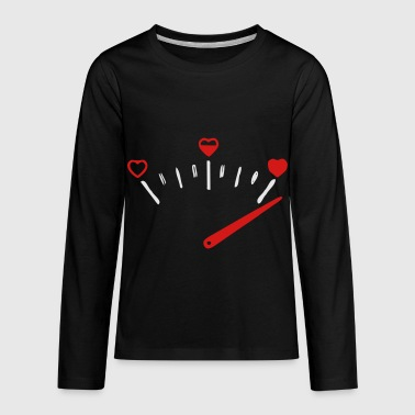 love speedometer - Kids' Premium Long Sleeve T-Shirt
