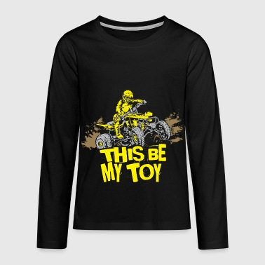 Yamaha Quad ATV Quad My Toy Rider - Kids' Premium Long Sleeve T-Shirt