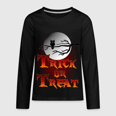 Trick Or Treat - Kids' Premium Long Sleeve T-Shirt