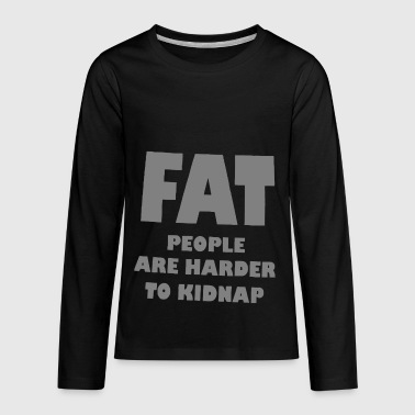 FAT JOKE - Kids' Premium Long Sleeve T-Shirt
