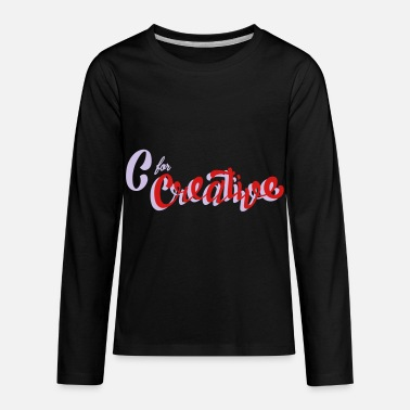Creative C for Creative - Kids' Premium Longsleeve Shirt