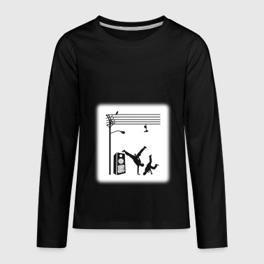 Break Dancing - Kids' Premium Long Sleeve T-Shirt