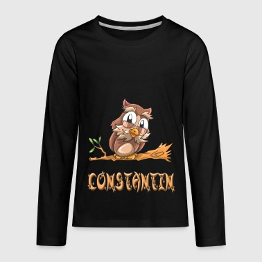 Constantin Owl - Kids' Premium Long Sleeve T-Shirt
