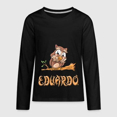 Eduardo Owl - Kids' Premium Long Sleeve T-Shirt