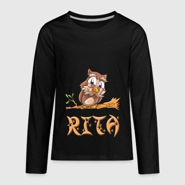 Rita Owl - Kids' Premium Long Sleeve T-Shirt