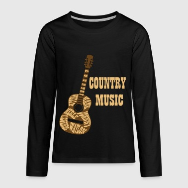 Country Music Legends Live Forever Country Fans - Kids' Premium Long Sleeve T-Shirt