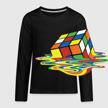 meltingcube - Kids' Premium Long Sleeve T-Shirt