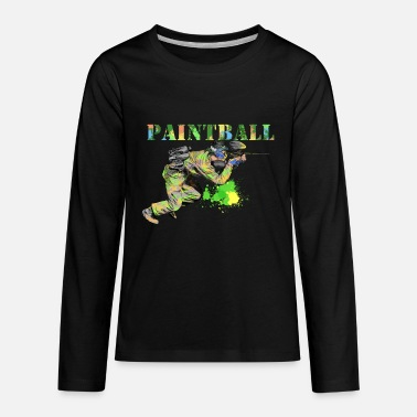 Paintball paintball - Kids' Premium Longsleeve Shirt