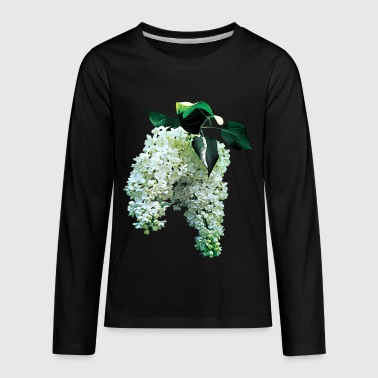 White Lilacs - Kids' Premium Long Sleeve T-Shirt