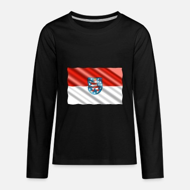 Thuringia Thuringia Flag - Kids' Premium Long Sleeve T-Shirt