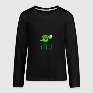 Squirts Turtle squirt - Kids' Premium Long Sleeve T-Shirt