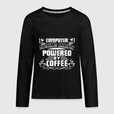 Computer Systems Analyst Shirt - Kids' Premium Long Sleeve T-Shirt