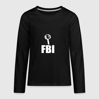 FBI - Kids' Premium Long Sleeve T-Shirt