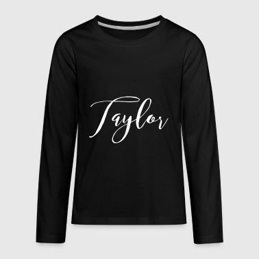 Taylor - Kids' Premium Long Sleeve T-Shirt