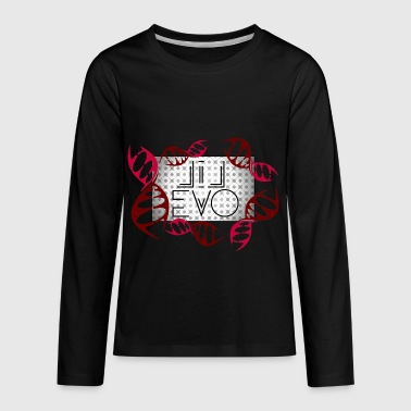 DNA is Evolution - Kids' Premium Long Sleeve T-Shirt