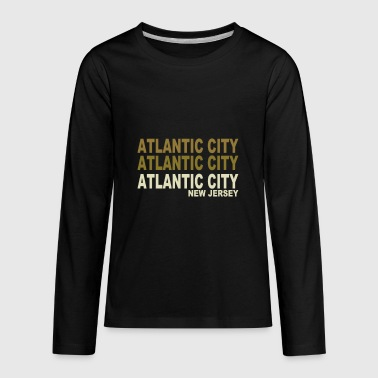 Atlantic City - Kids' Premium Long Sleeve T-Shirt