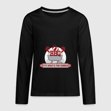 BBQ - Kids' Premium Long Sleeve T-Shirt