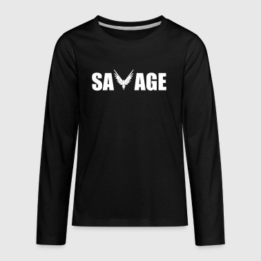 New Savage Maverick - Kids' Premium Long Sleeve T-Shirt
