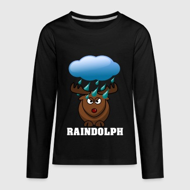 Raindolph the red nosed reindeer - Kids' Premium Long Sleeve T-Shirt